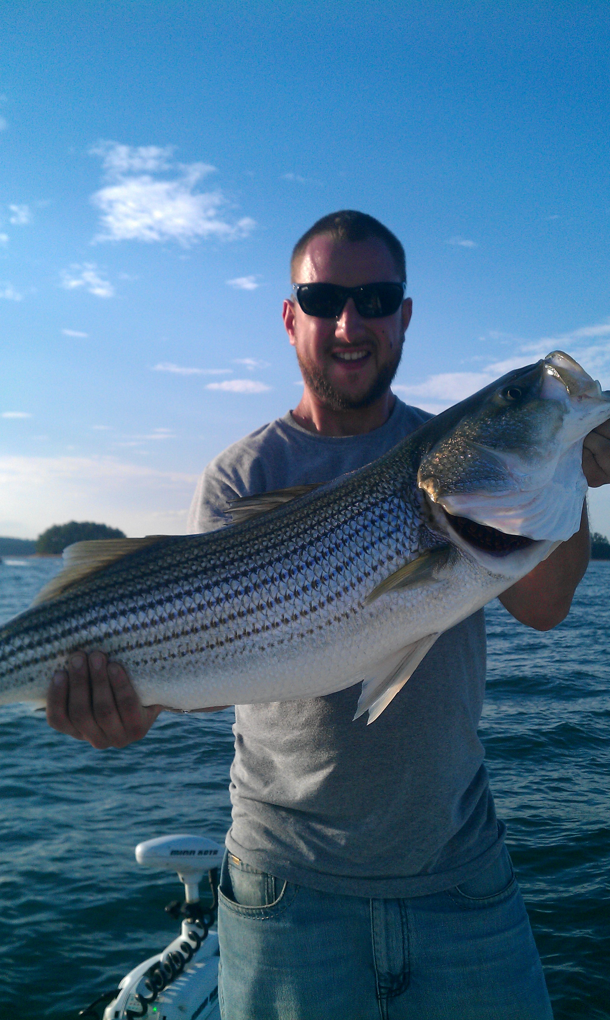 charter fishing lake lanier striper steve 39 s fishing