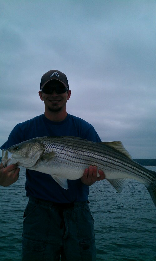 Striper Fishing Lake Lanier Ga