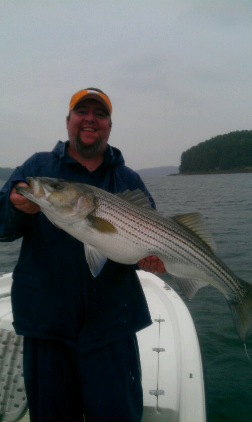 Striper Fishing Guides Lake Lanier Ga